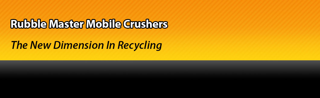 Rubble Master Mobile Crushers